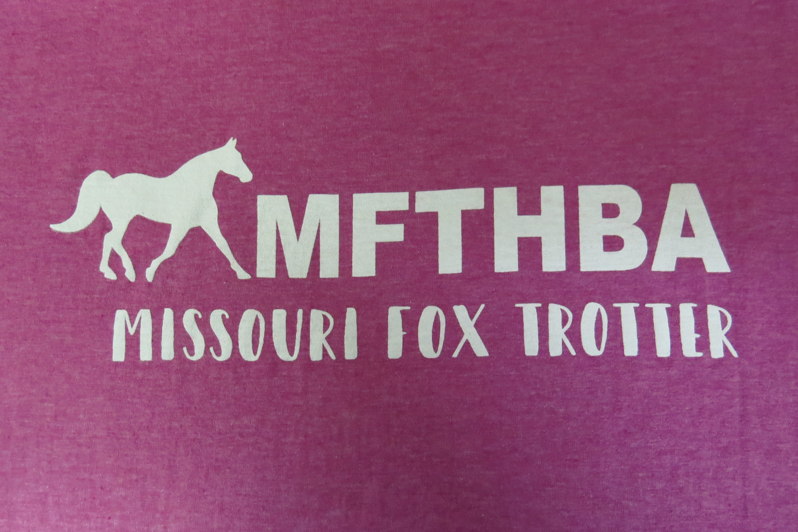 Missouri Fox Trotter Tee in Heather Berry